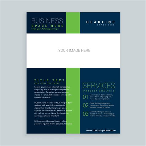 Simple Brochure Design by Simple Brochure Cover Flyer Template Design For Your