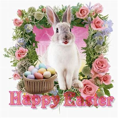 Easter Happy Glitter Bunny Graphics Animations Pasen