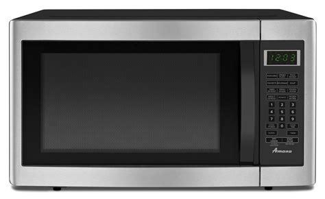 countertop microwave reviews amana amc2166as 1 6 cu ft countertop microwave review