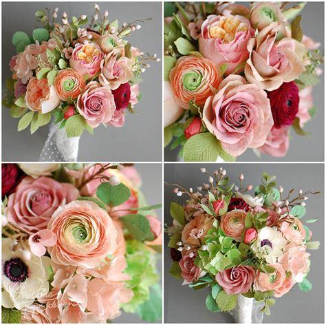 paper flowers   fairytale wedding christine paper