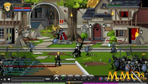 AdventureQuest Worlds Game Review - MMOs.com