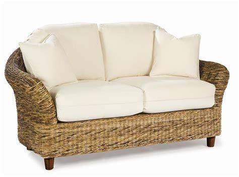 rattan bedroom furniture seagrass loveseat tangiers