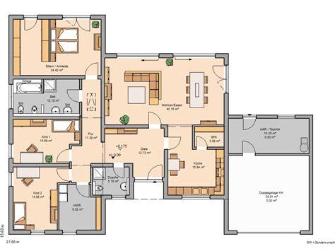 Bungalow Garage Grundrisse by Haus Bungalowstil Grundriss