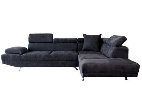 canapé 6 places angle canapé d 39 angle microfibre 5 places avec têtières réglables