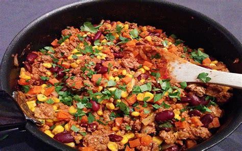 recette pate de cagne traditionnel chili con carne au ma 239 s mon menu de la semaine