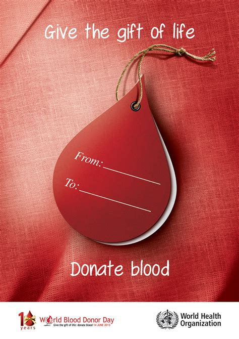 world blood donor day  posters