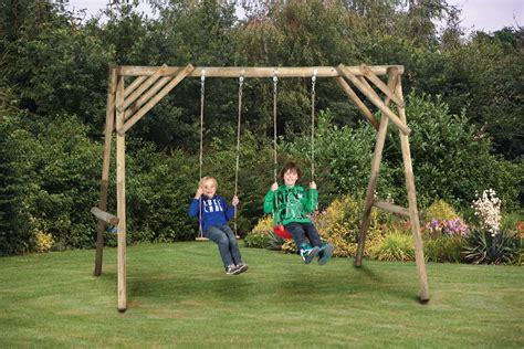maixm garden outdoor swing set