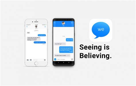 imessage for android imessage comes for android by a 16 year developer but