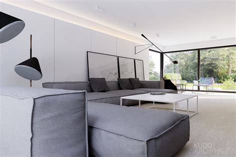 Sleek And Simple Luxury In Luxembourg by Sleek And Simple Luxury In Luxembourg By Kuoo Architects