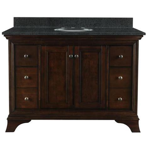 allen roth vanity cabinets shop allen roth eastcott auburn undermount single sink