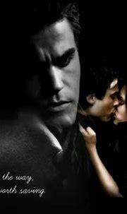 Damon & Elena - The Vampire Diaries Fan Art (15133954 ...
