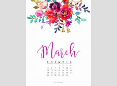 March 2017 Calendar + Tech Pretties Dawn Nicole Designs®
