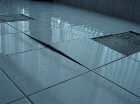 tile floor movement and expansion joints problems