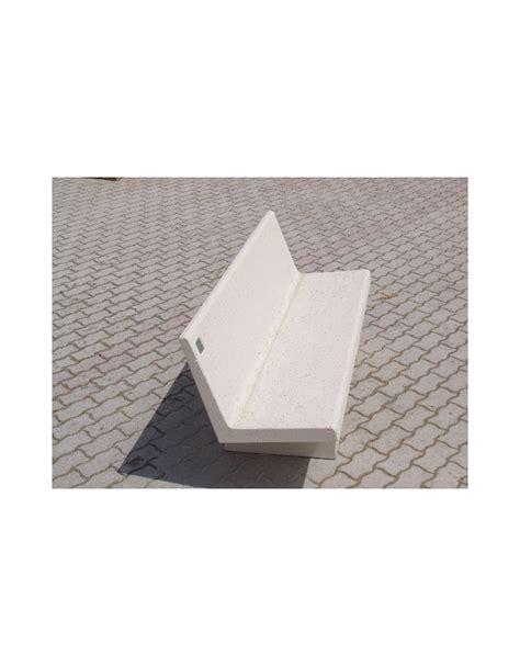 Panchina Cemento by Panchina Cemento In Calcestruzzo Bianco Mediterranea