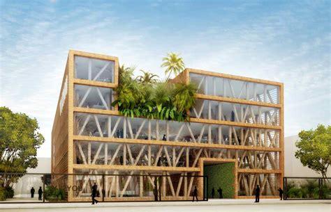 bureau d ude structure bois l 39 immeuble en bois en voie de démocratisation en