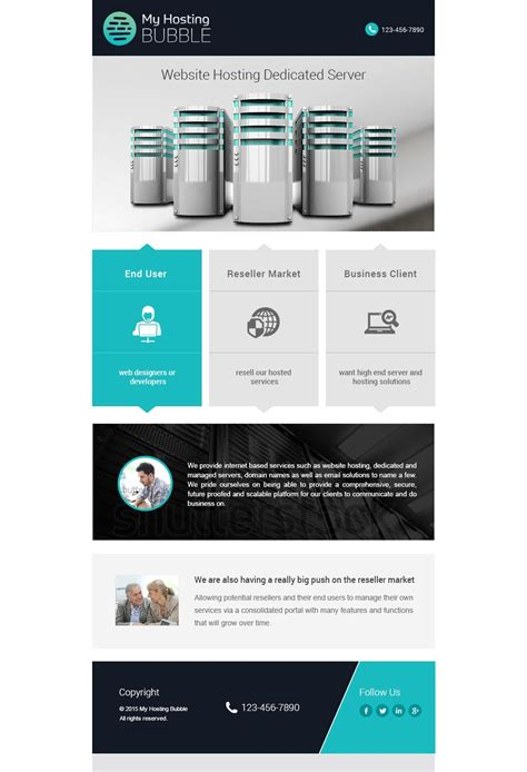 creative flat email template inspirational emails