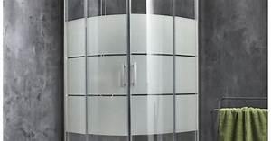 porte de douche coulissante sensea optima 2 verre With porte de douche coulissante avec radiateur electrique leroy merlin salle de bain