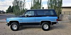 Clean Unmolested 1987 Chevrolet Blazer K5 85 86 88 89
