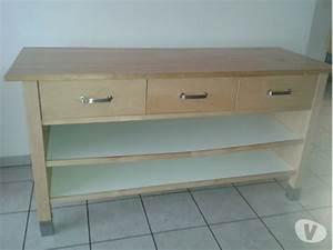 Console De Cuisine : meuble long cuisine maison et mobilier d 39 int rieur ~ Teatrodelosmanantiales.com Idées de Décoration