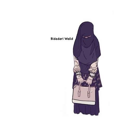 dp kartun muslimah  pijah muhammad dwi lestari