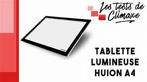 Tablette Lumineuse Dessin : test d 39 une tablette lumineuse huion a4 pour le dessin ~ Nature-et-papiers.com Idées de Décoration