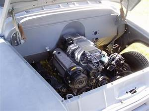 57 Chevy Truck Engine Polished 305 Fuel Injection Smoothed