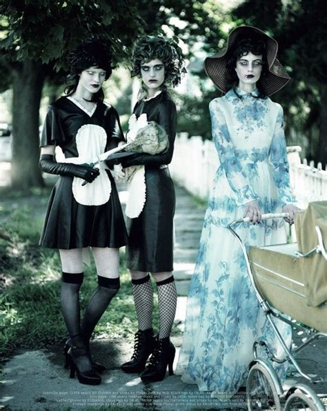 Undead Housewife Editorials | Larissa hofmann, Mode ...