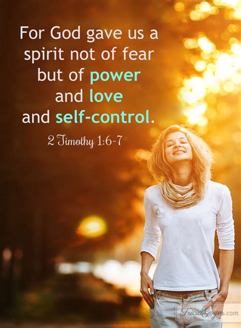 power love  control  timothy   tricia goyer