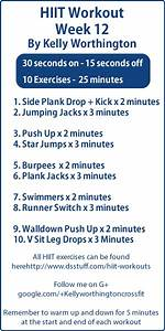 Pin by Body2Shape on HIIT Workouts | HIIT, Workout, Fitness