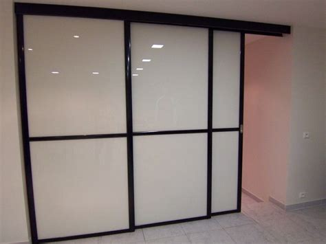 porte de cuisine coulissante portes coulissantes de séparation de pièce sans rail au sol en verre laqué blanc vente