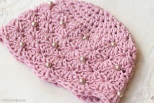 crochet patterns hopeful honey craft crochet create vintage pearl baby hat free crochet pattern