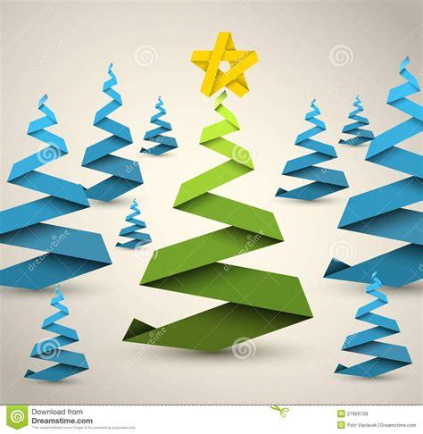 193 rboles de navidad simples del papel del vector