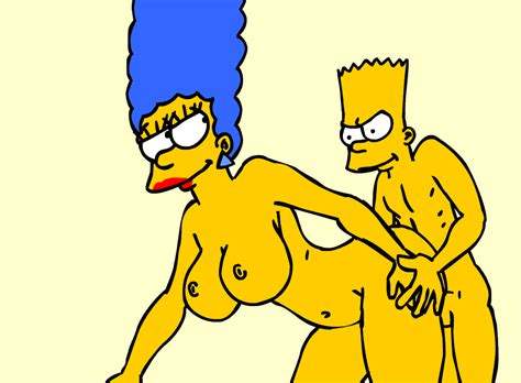 Marge From Behind By Nickartist Hentai Foundry