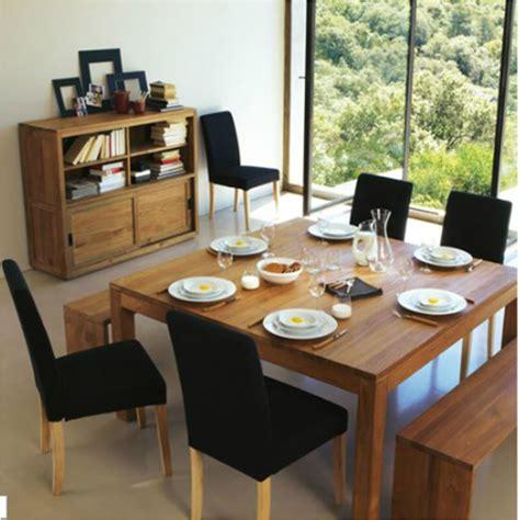meuble cuisine 3 suisses la table de repas carrée contemporaine mon nouveau kiff