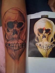 Salvador Dali Skull Tattoo   www.pixshark.com - Images ...