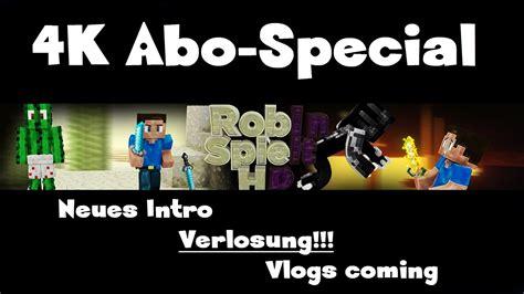 4k  Abospecial  4k Special  Vlogs  Verlosung Neues