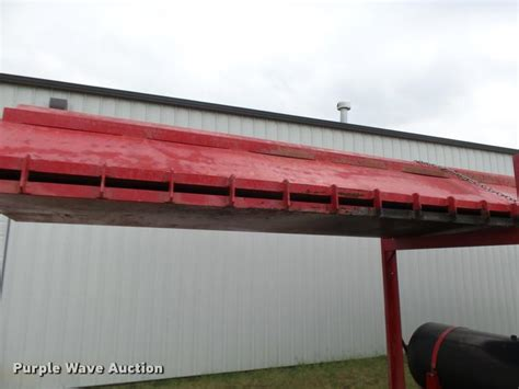 mcpherson system inc m40f air curtain destructor trench