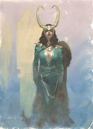 Marvel Lady Loki Cosplay