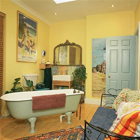 yellow bathroom decorating ideas yellow bathroom bathroom vanities decorating ideas housetohome co uk