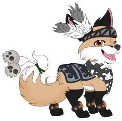 animal jam fox separate  fuzzyberryclaws  deviantart