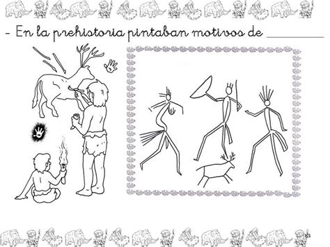 clase de infantil prehistoria prehistory paleolithic period y age