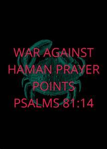War Against Haman Prayer Points 2020