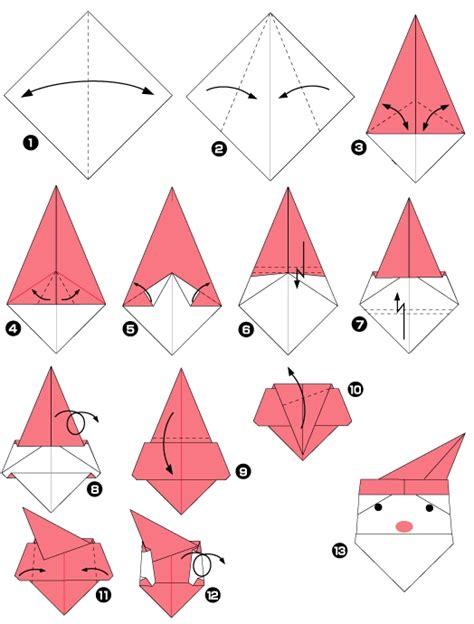 origami facile de noel origami noel facile a faire
