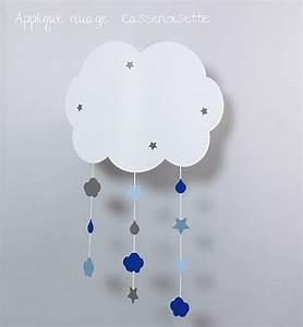 Applique nuage bb pour rver Fabrique Casse Noisette