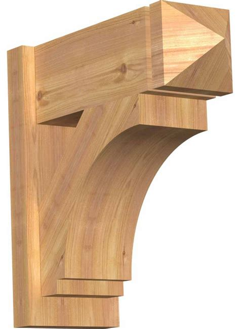 Craftsman Corbel by Imperial Smooth Arts Crafts Outlooker Western Cedar