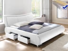 schlafzimmer bett 180x200 polsterbett lando bett 180x200 cm weiß mit lattenrost und matratze m wohnbereiche schlafzimmer