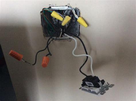 wemo light switch installation belkin wemo light switch to replace existing switch