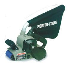 porter cable 352vs 8 3 inch by 21 inch variable speed belt sander with cloth dust bag