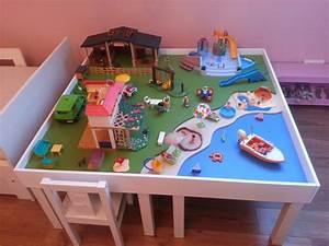Table Jeux D Eau : table de jeux ikea ouistitipop ~ Melissatoandfro.com Idées de Décoration