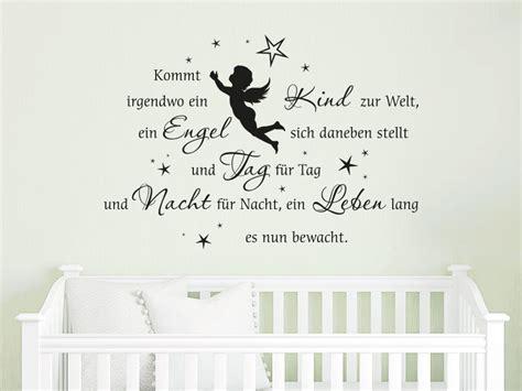 Wandtattoo Kinderzimmer Engel by Wandtattoo Ein Engel Bewacht Gebet Klebeheld 174